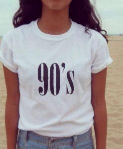 90's Women T shirt KH01