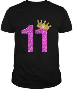 11th Birthday Girl T-Shirt EL01