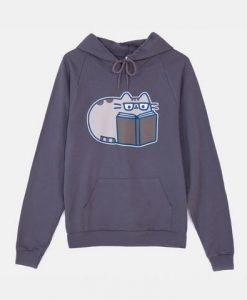 Reading Pusheen Hoodie FD01