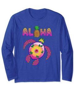 Aloha Honu Turtle Sweatshirt SR01
