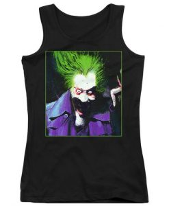 Arkham Asylum Juniors Joker Tank Top AZ01