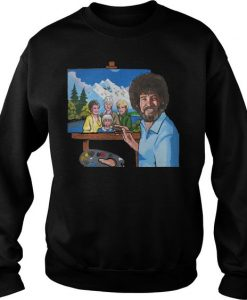 Best Price Bob Ross Painting Sweatshirt EL29