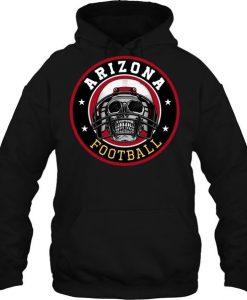 Arizona Football  Skull Hoodie EL01