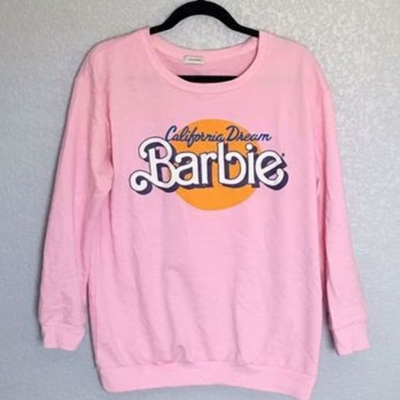 California Dream Barbie Sweatshirt AZ25N