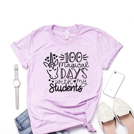 100 Magical Days Tshirt FD6D