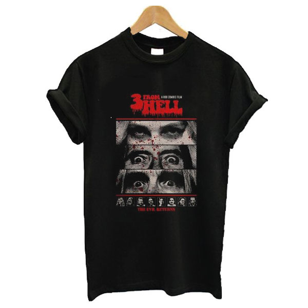 3 From Hell t-shirt FD2D