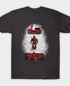 A Killer - Deadpool TShirt TT24D