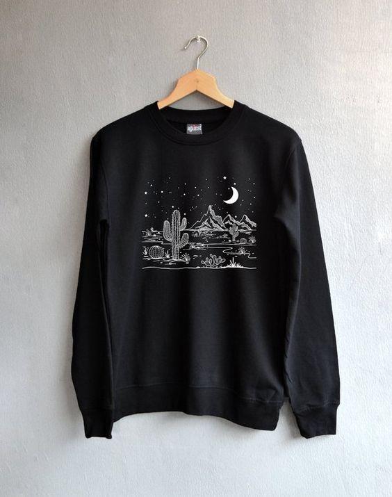 Desert starry Sweatshirt AI5D