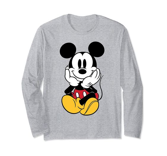 Disney Chillin Mickey Sweatshirt AI5D