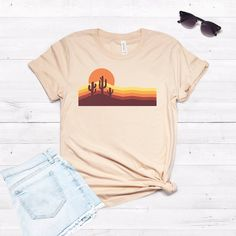 70s Desert Tshirt EL18J0