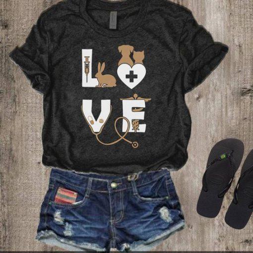 Love Animals T-shirt ZL4M0
