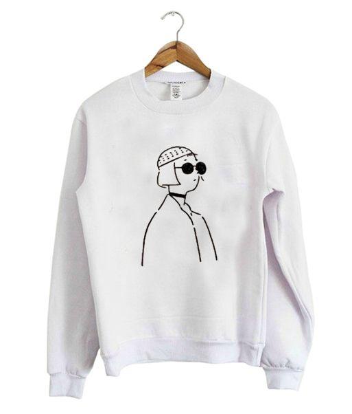 Aesthetic Sweatshirt TU2A0