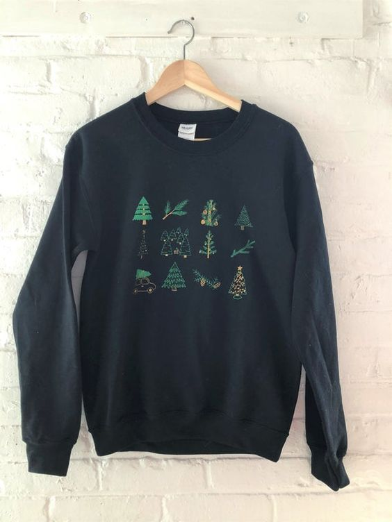 Christmas tree sweatshirt AL27JN0