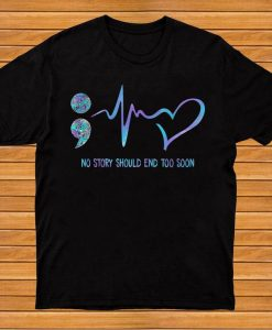 No Story Should End T-Shirt AL31AG0