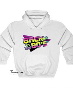 Back To The 80'S Hoodie ED26JN1