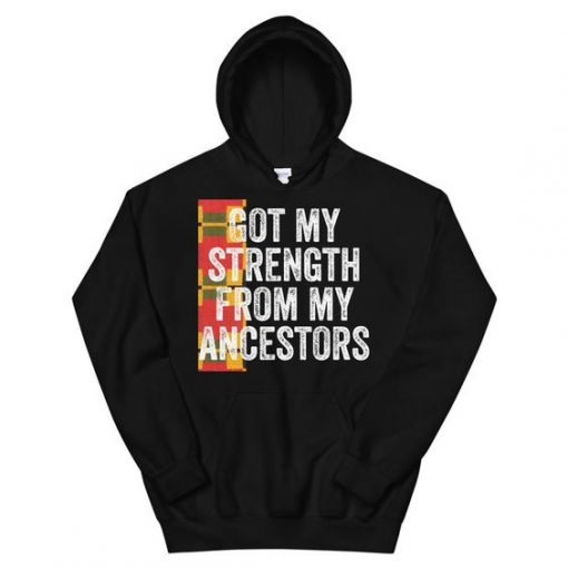 Ancestors Strength Hoodie SD5A1