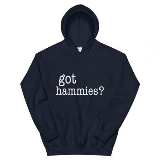 Got Hammies Hoodie SD5A1