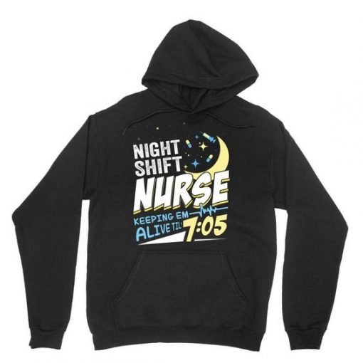 Night Shift Nurse Hoodie SD30A1