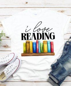 I Love Reading T-Shirt EL8M1
